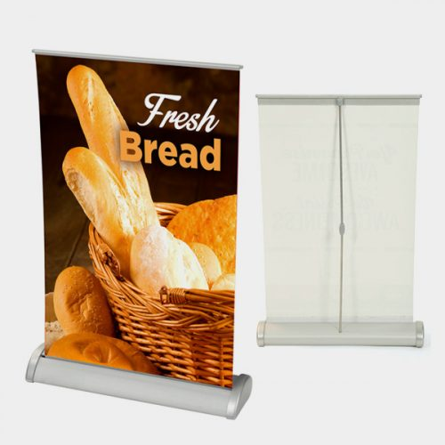 table retractable banner